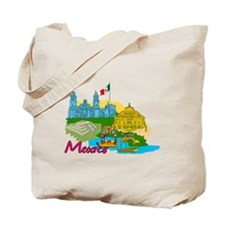 Mexico City - Mexico Tote Bag