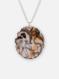 Black Sun Sorceress Necklace