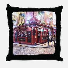 Temple Bar Dublin, Ireland Throw Pillow