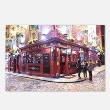 Temple Bar Dublin, Irelan Postcards (Package of 8)