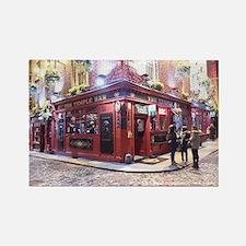 Temple Bar Dublin, Ireland Rectangle Magnet