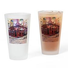 Temple Bar Dublin, Ireland Drinking Glass