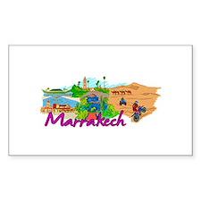Marrakech - Morocco Decal