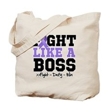 Hodgkin's Lymphoma Fight Tote Bag