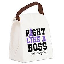 Hodgkin's Lymphoma Fight Canvas Lunch Bag