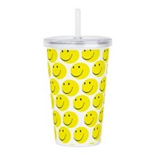 Smiles Acrylic Double-wall Tumbler
