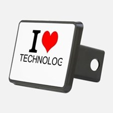 I Love Technology Hitch Cover