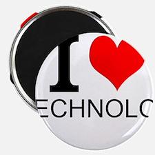 I Love Technology Magnets