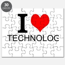 I Love Technology Puzzle