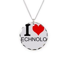I Love Technology Necklace