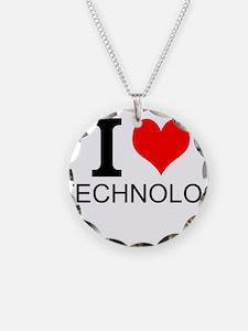 I Love Technology Necklace