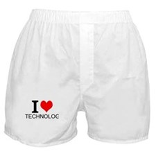 I Love Technology Boxer Shorts