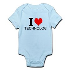 I Love Technology Body Suit