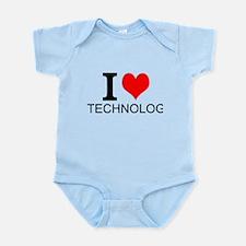 I Love Technology Body Suit
