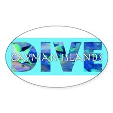 CaymanIslands10x3_sticker Decal
