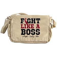 Head Neck Cancer Fight Messenger Bag