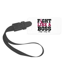 Head Neck Cancer Fight Luggage Tag