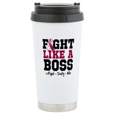 Head Neck Cancer Fight Travel Mug