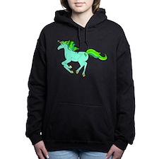 Gastroschisis awareness ribbon Women's Hooded Sweatshirt