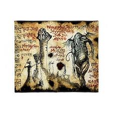 Cthulhu Rituals Throw Blanket