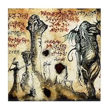 Cthulhu Rituals Tile Coaster