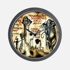 Cthulhu Rituals Wall Clock