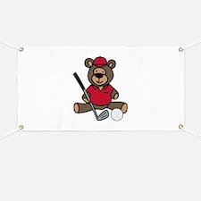 Golf Bear Banner
