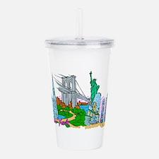 New York City - United States of America Acrylic D