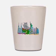 New York City - United States of America Shot Glas