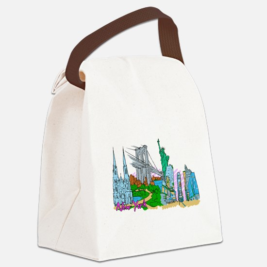New York City - United States of America Canvas Lu