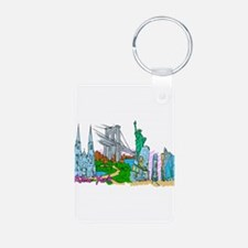 New York City - United States of America Keychains