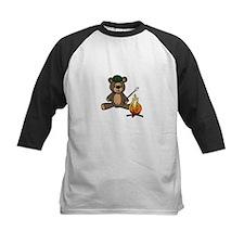 Campfire Teddy Bear Baseball Jersey