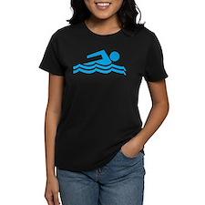 Funny Swimming water pool Tee