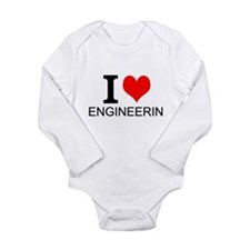 I Love Engineering Body Suit