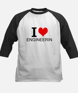 I Love Engineering Baseball Jersey