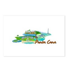 Punta Cana - Mexico Postcards (Package of 8)