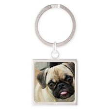 Pugsley The Pug Keychains