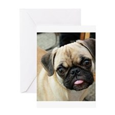 Pugsley The Pug Greeting Cards