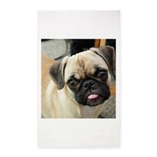 Pugsley The Pug 3'x5' Area Rug