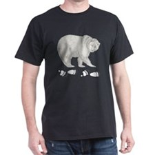 Grizzly and Tracks T-Shirt