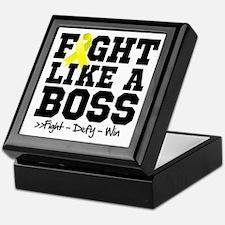 Ewings Sarcoma Fight Keepsake Box