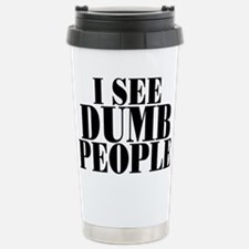 Dumb Travel Mug