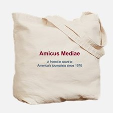 News media Tote Bag