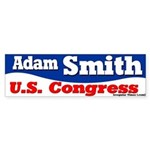 Adam Smith for Congress Bumper Sticker