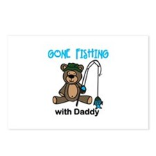 Fishing with Daddy Postcards (Package of 8)