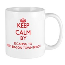 Keep calm by escaping to Fred Benson Town Beach Rh