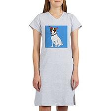 Jack Russell Terrier Oil Women's Nightshirt