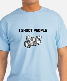 I Shoot People (video camera) T-Shirt