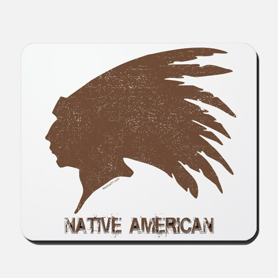 Native American 2 Mousepad