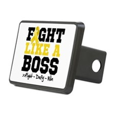Childhood Cancer Fight Hitch Cover